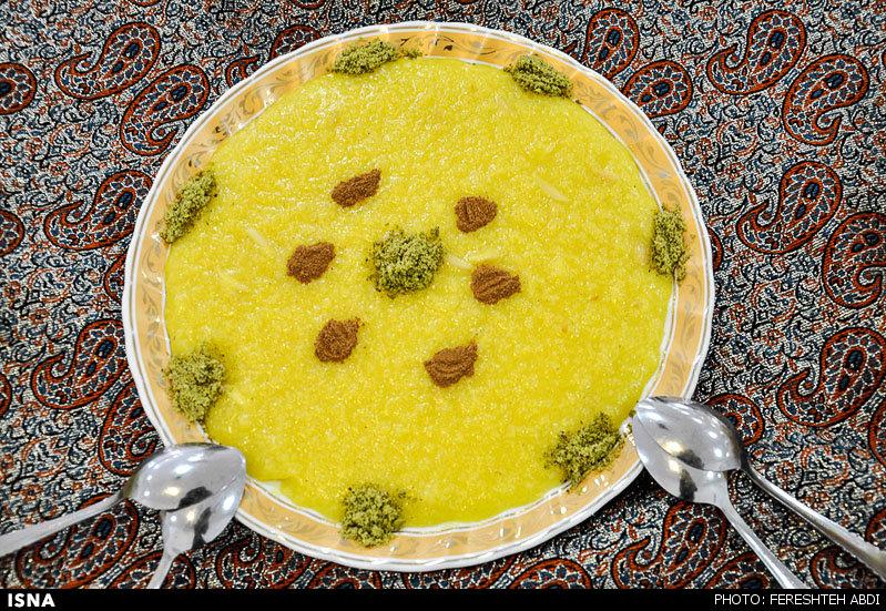 بزرگترین کیک زعفرانی