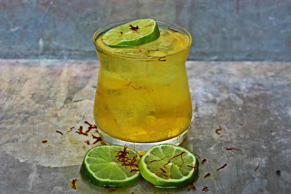 نوشیدنی انرژیزا از زعفران