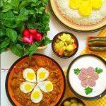 پیچاق قیمه زعفرانی ، غذای مخصوص اردبیلی ها