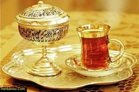 چای زعفرانی